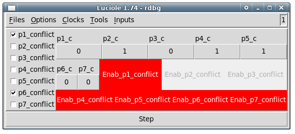 Figure 3: A Luciole Screenshot once the Compose mode has been set
